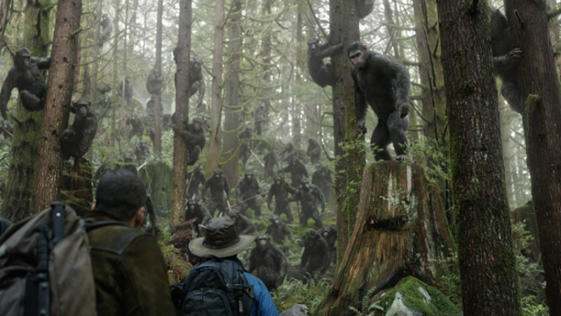 Dawn Of The Planet Of The Apes 2014 Hawkensian